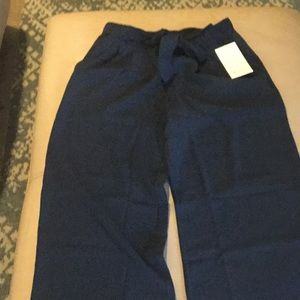 NWT lululemon navy trousers